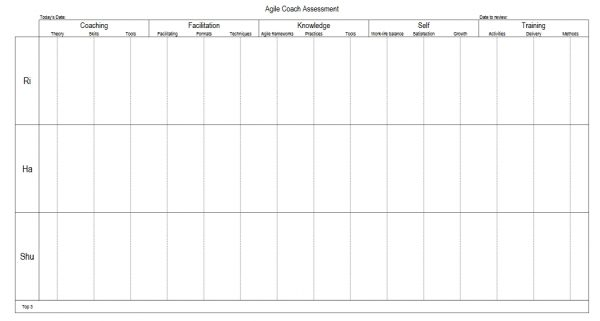 Agile Coaching Assessment