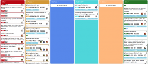 Krosswall is an online Agile project management tool