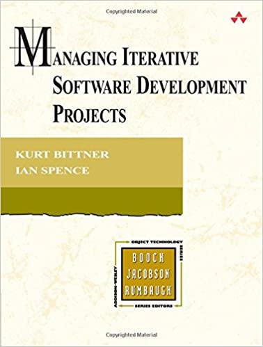 Managing Iterative Software Development Projects by Ian Spence & Kurt Bittner