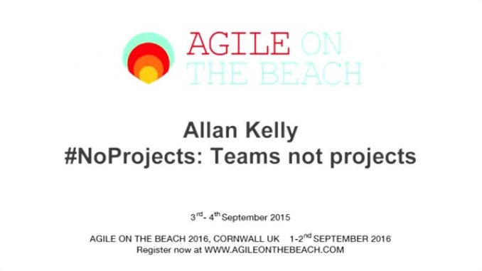 #No Projects – Teams not Projects