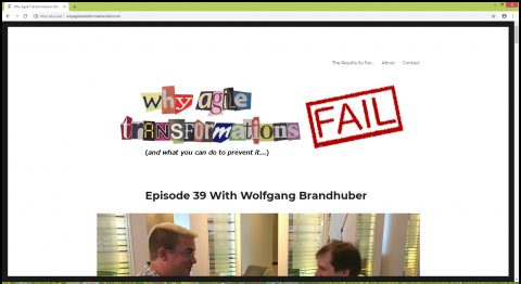 Agile & Scrum Podcasts: Why Agile Transformations Fails